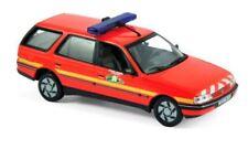 wonderful modelcar PEUGEOT 405 BREAK 1991 POMPIERS FIRECHIEF - red - scale 1/43