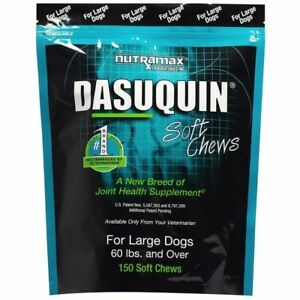 Nutramax Dasuquin 150 Soft Chews for Large Dogs Joint Health