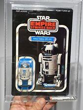 Afa 85 Star Wars 1980 Kenner ESB R2-D2 41-back-D (C85 B80 F85) Transparente NM+
