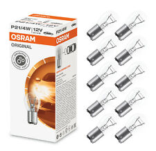 10x OSRAM P21/4W BAZ15d Brake Light Fog Indicator Blinker Reverse Bulbs Clear