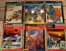 Lot of 6 Traveller 2300 Books RPG GDW