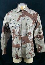 Burk Camo Camouflage Jacket Medium USA Army Hunting Outdoor Gear Vintage