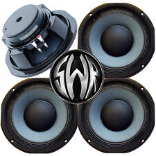 "4 pack 10"" 8 Ohm Eminence SWR Goliath Woofer Midbass Bass Guitar Speaker USA"