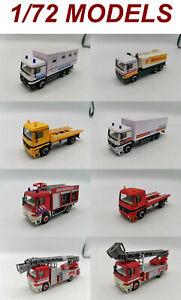 Mercedes Benz truck trucks 1/72 1 72 CARARAMA HONGWELL schuco epoch real-x yujin