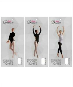Silky Essentials Convertible, Footed and Footless Ballet Dance Tights All Sizes