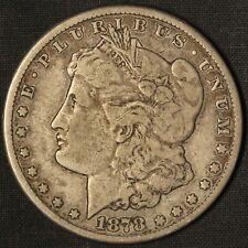 1878-CC Morgan Silver Dollar - Carson City Mint - Free Shipping USA