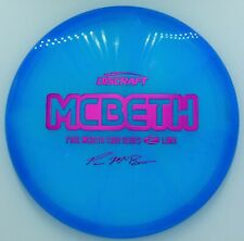 New Discraft Tour Series Paul Mcbeth Z Luna *Ocean Waves* 173-174g