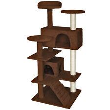 Rascador para gatos Árbol para gatos sisal juguetes 132 cm de altura
