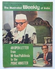 The Illustrated Weekly of India 1977 AN OPEN LETTER to PRIME MINISTER