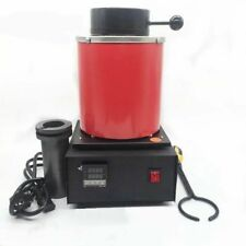 Automatic Jewelry Refining Casting Silver&Gold Melting Furnace Scrap Pot  2KG