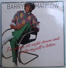 BARRY MANILOW I'm Gonna Sit Right And Write Myself A Letter 7 Single PS Vinyl EX