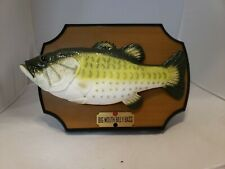 1999 Gemmy Big Mouth Billy Bass Singing Fish Motion Activated Battery Operated
