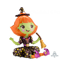 Halloween Witch Balloon Cute Party Supplies Decorations Air Fill 53cm USA Made