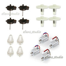 4PCS CW CCW Stand+Motor Motor+Main Cover+Main Gear for Syma X8C X8W Spare Parts