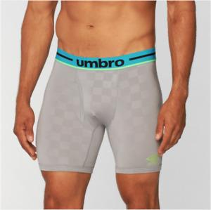 Umbro Men's Digital Boxer Brief - Silver (Single)