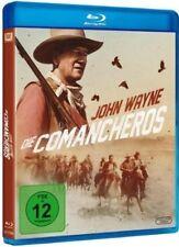 DIE COMANCHEROS (John Wayne, Stuart Whitman) Blu-ray Disc NEU+OVP