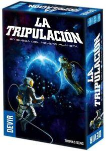 Devir BGTRIPSP. La Tripulación. En busca del noveno planeta. 3 a 5 jugadores.