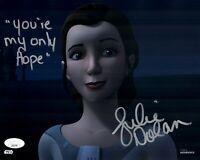 JULIE DOLAN Signed PRINCESS LEIA Star Wars TOPPS 8x10 Photo Autograph JSA COA