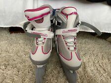 Bladerunner ice skates grey pink and white size 5