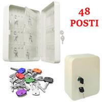 Cassetta Porta Chiavi parete Appendi 48 Posti Sicurezza Custode Condominio 918