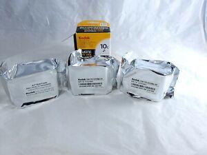 3 Genuine OEM Kodak Color Printer Ink Cartridge 10C New Sealed Package No Box