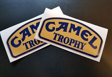 2 x Camel Trophy Stickers Race & Rally Car Stickers. 140mm x 70mm