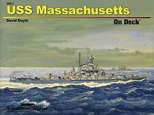 Squadron/Signal Squadron On Deck 26011 - USS Massachusetts - NEW