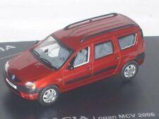 DACIA LOGAN MCV 1.5 DCI ROUGE TOREADOR 2006 ELIGOR 7711422004 1/43 ROSSO RED ROT