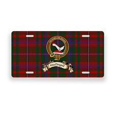 MacDougall Scottish Clan Novelty Auto Plate Tag Family Name License Plate