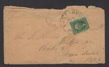 Old cover 1855 United States Washington