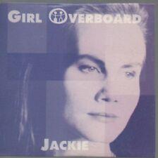 GIRL OVERBOARD CD 1994 card sleeve JACKIE 4 tracks Aussie Rock