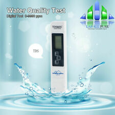 Digital TDS Meter Water Quality Tester Filter Purity Pen LCD Screen 0-9999 PPM