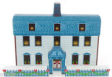 Dwight House Artist Proof Ofc02P Shelia'S Old Fashioned Christmas Bennington Vt