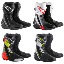 Alpinestars Supertech R Motorcycle Motorbike Race Boots |Colours & Sizes|+ gift