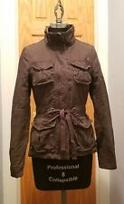 Pre-Owned Women's EDC Military Style Brown Jacket Sz. XS Very Cute !!