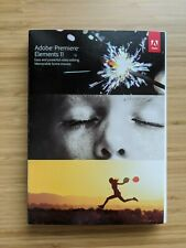 Adobe Premiere Elements Version 11 DVD MacOS WIN (Opened)