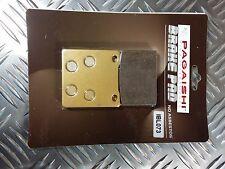 Semi Métal plaquette frein arrière pour SUZUKI RG 400 Walter Wolf (Type 1&2)