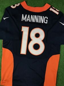 Peyton Manning #18 Denver Broncos NFL Nike Jersey Size 40