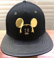 Disney Park Black/Gold Baseball Cap NWT MSRP $39.99