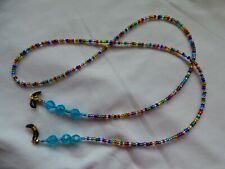 Beaded Spectacles/Glasses Chain - Multi Coloured beads.