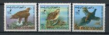 Afghanistan 1970 Vögel Greifvogel Birds of Prey 1082-1084 Postfrisch MNH