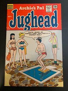 Archie Comics ARCHIE'S PAL JUGHEAD #112, FN, 1964, SWIMSUIT COVER! No Reserve!