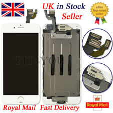 "White Screen For iPhone 6 4.7""Replacement Digitizer Touch LCD Home Button camera"