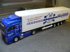 1/87 Herpa MAN TGX XLX Kühlkoffer-SZ G & P Trans 923002