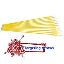 "24"" Fiberglass Arrows Recurve Bows Compound Bow ShootingYouth Kids Practise  12X"