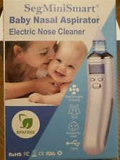 Electric Baby Nasal Aspirator Nose Cleaner and Snot Sucker - Adjustable.