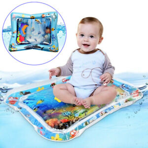 Large Baby Water Mat Inflatable Cushion Infant Toddler Water Play Mat Children