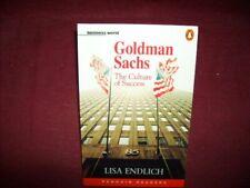 Endlich, Lisa, Goldman Sachs: The Culture of Success