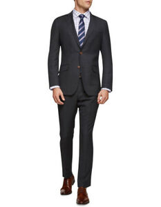 OXFORD // Size 108 98 // New Hopkins Charcoal Check Wool Suit