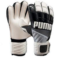 PUMA Men's Fluo Protect Goalkeeper Gloves Black/White PMAT3128